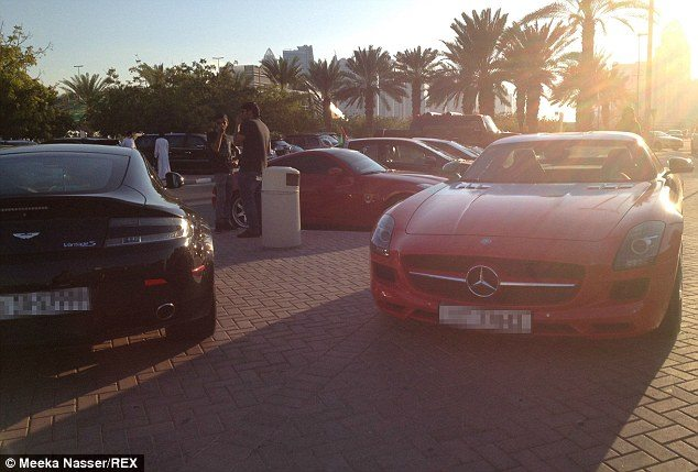 aston and mercedes