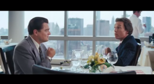 The Wolf of Wall Street: Why Does Matthew McConaughey Hum and Beat His Chest?