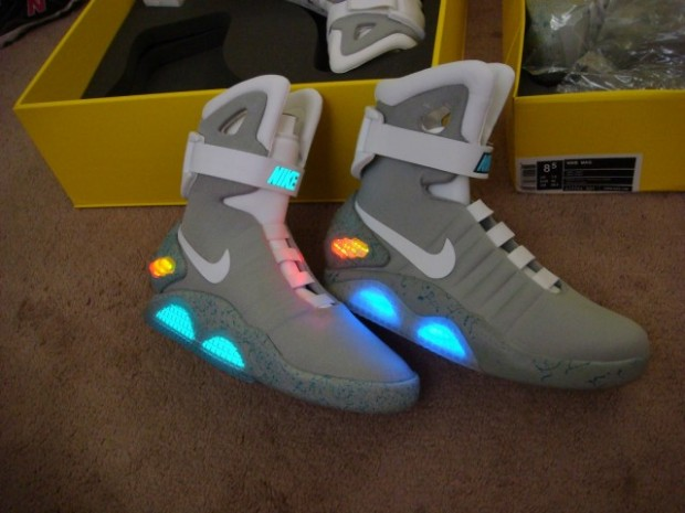 "Nike is Going to Make the ""Back to the Future"" Shoes in 2015"