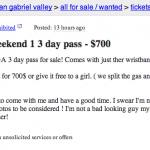 This is the Most Epic Coachella Ticket Prank Ever on Craigslist