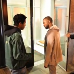 WATCH: Young Rapper Tries to Impress Kanye West While Walking on the Street