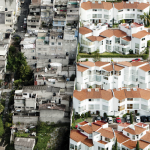 These Aerial Photos Reveal the Shocking Difference Between the Rich & Poor