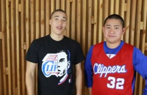 Tim Nguyen and Russell Curry