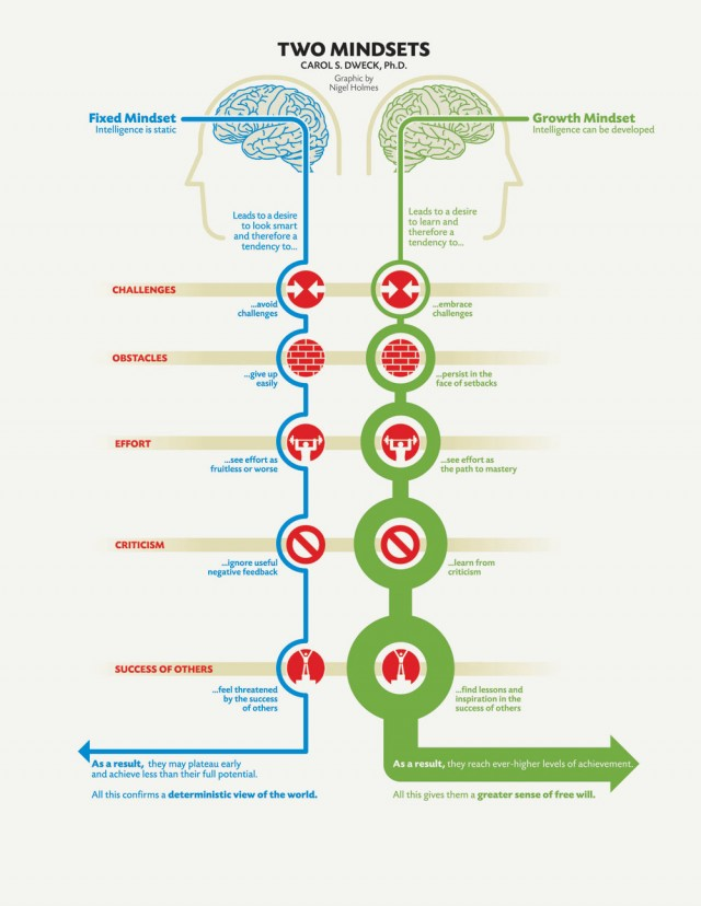 This Infographic Shows the Clear Difference Between Successful and Unsuccessful Brains