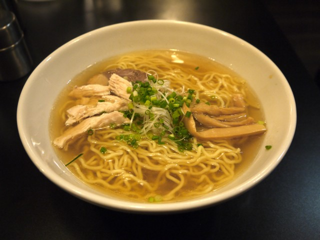 ramen and chicken