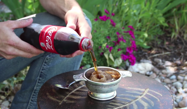 Ordinary Soda Freezes When It's Poured. You'll Be Amazed at How Easy it is to Do