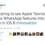Apple Just Copied Some Features From WhatsApp… Its Founder is Not Amused