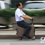 This Chinese Suitcase-Scooter Invention Needs to be a Thing Like NOW!