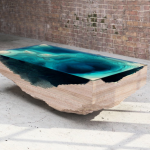 This Stunning Coffee Table is Designed to Look Like the Ocean Floor. Guess the Price!