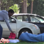 WATCH: Who Would Steal Kanye West Shoes From a Homeless Guy?