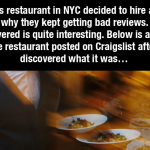 People Kept Complaining This Restaurant Sucked, Then They Discovered an Unfortunate Truth about Their Customers