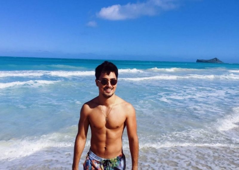 Pia Wurtzbach and Marlon Stockinger spend New Year in Hawaii