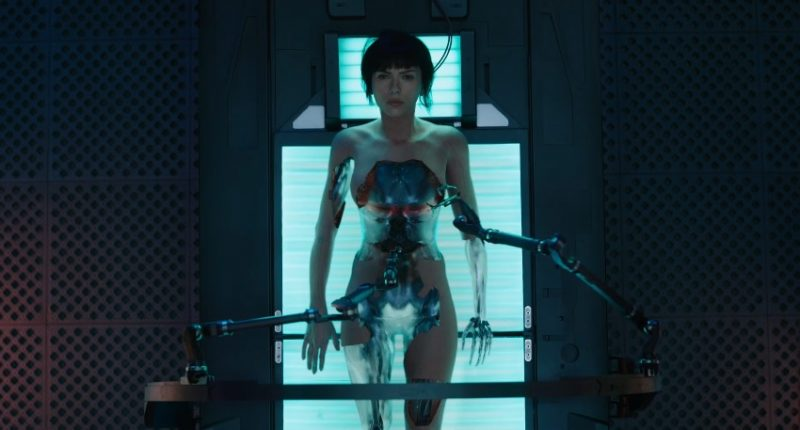 Watch the brand new trailer for Ghost In The Shell