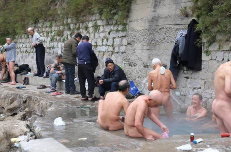 Good when Nude hot springs in china words