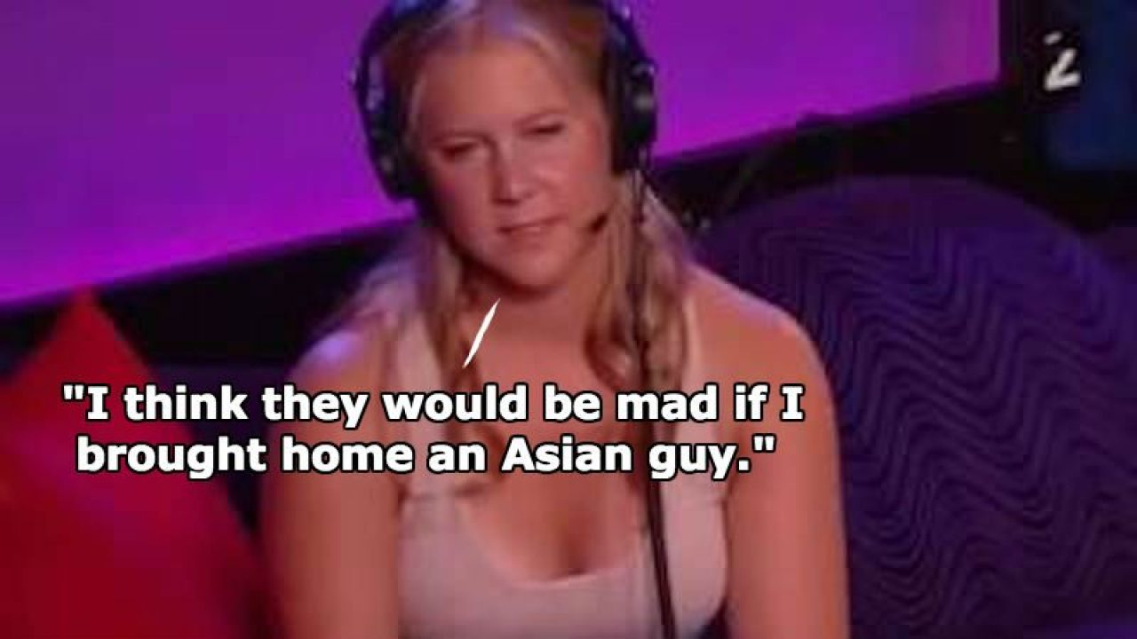 Amy Schumer Fucked amy schumer reveals her family's racist reaction if she