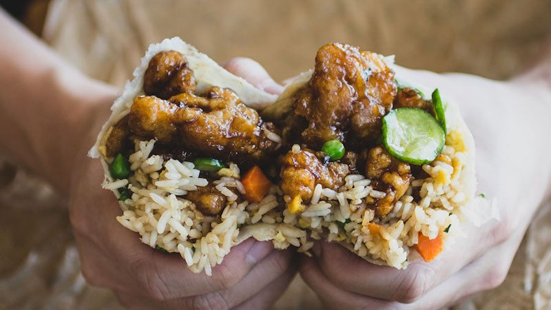 Panda express unveils mexican chinese mashup with orange chicken burrito ccuart Images