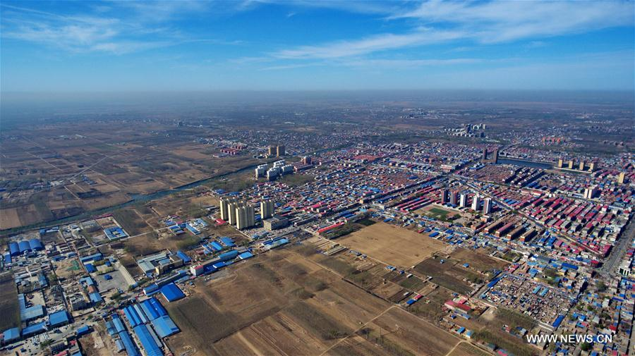 China's vice premier urges strict property controls in new economic zone