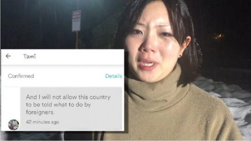 'It's why we have Trump': Asian guest turned away by lodge owner