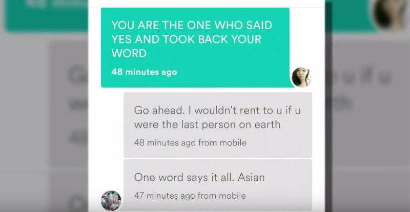 Airbnb Host Cancels Woman's Reservation Because She's Asian