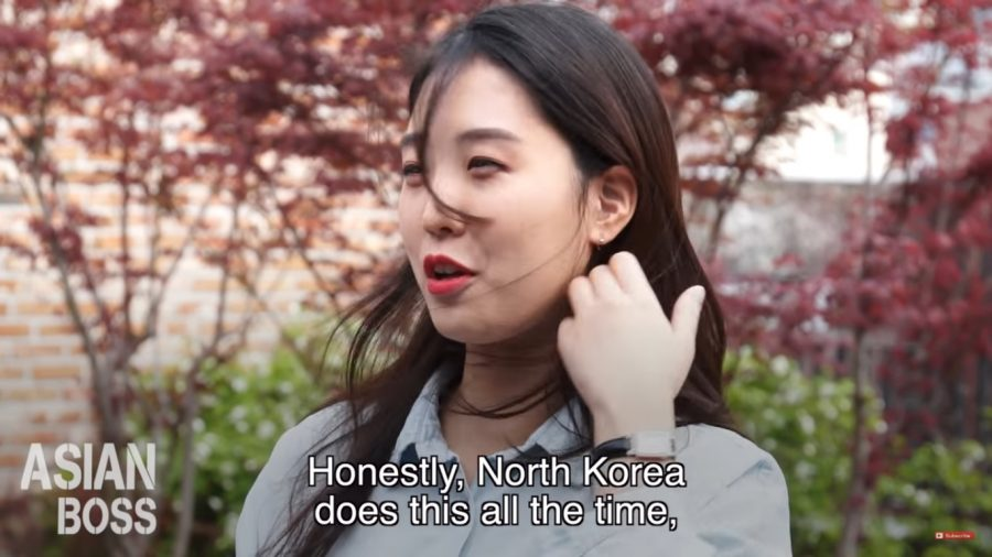 North Korea is 'getting the message'