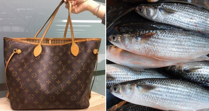 Grandma Used Her $1260 Leather Louis Vuitton Bag to Carry Fish