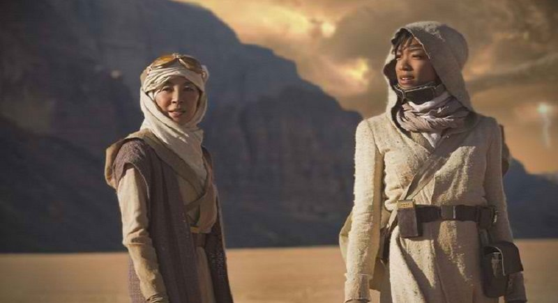 First Look at Sonequa Martin-Green's New Role in 'Star Trek: Discovery'