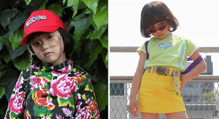 6,Year,Old Japanese Girl Becomes Instagram Star With Outfits That are Lit AF