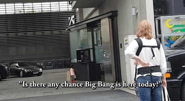 Adorable Little Girl Walks Up to K-Pop Record Label, Asks to