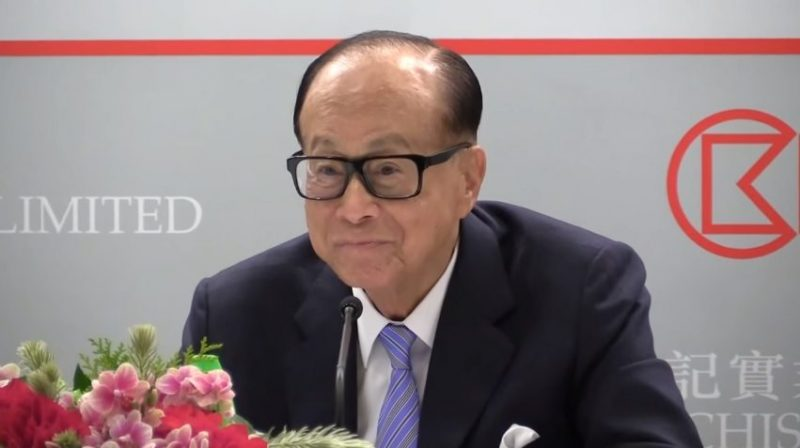 Li Ka-shing says no specific retirement plan yet