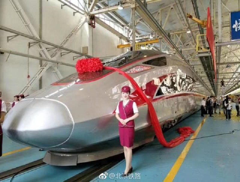 China Unveils Their Epic Shanghai To Beijing Bullet Trains