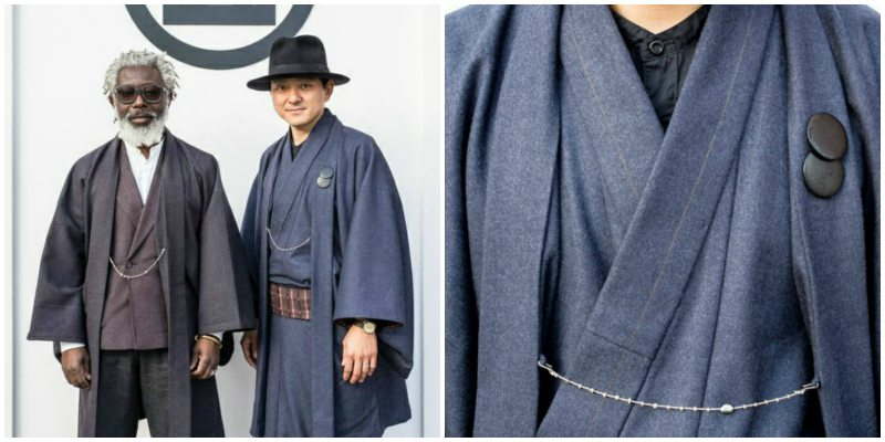 Modern Kimonos For Men Fused With Japanese And Scandinavian Styles