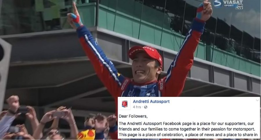 Indy 500 Winner Speaks Out On Newspaper Columnist's Racist Tweet