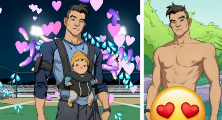 New Dating Game 'Dream Daddy' Allows You to Date This Hot AF