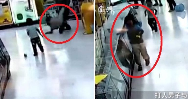 Disturbing Footage Shows Chinese Father Mercilessly Beating