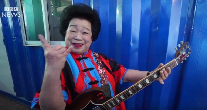 Meet The 81 Year Old Granny Who Became A Legit Rockstar In