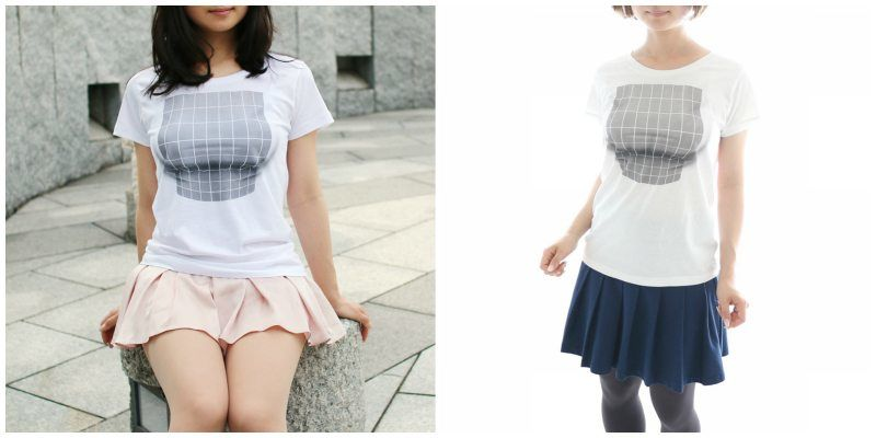 2f281daaa Japan is Now Selling a T-Shirt That Makes Your Breasts Look Bigger