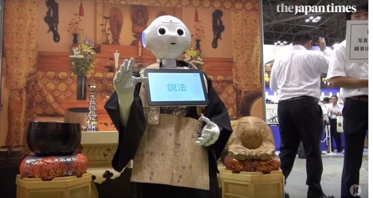 Robot Priests Could Soon Be Running Cheap Funeral Ceremonies in Japan