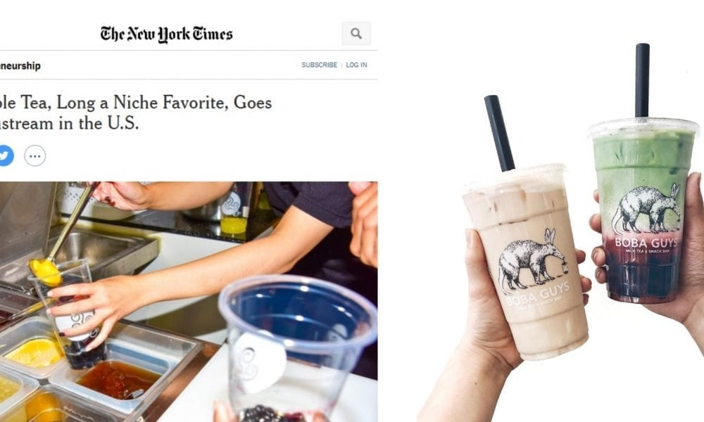 Congrats Asians! The NY Times Just Declared Boba 'Mainstream' in 2017