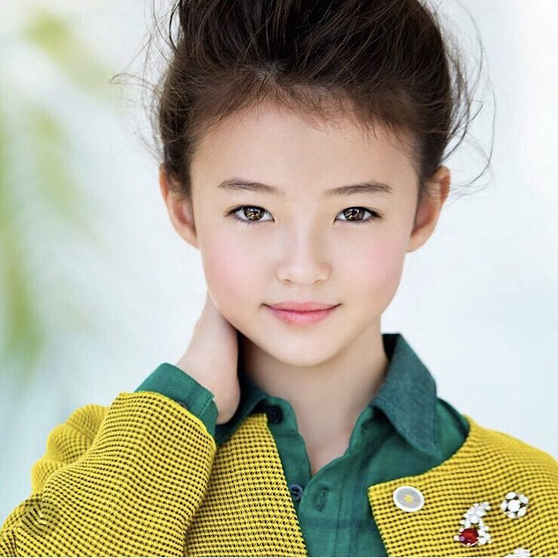 The Most Gorgeous Child Model in the World is Probably