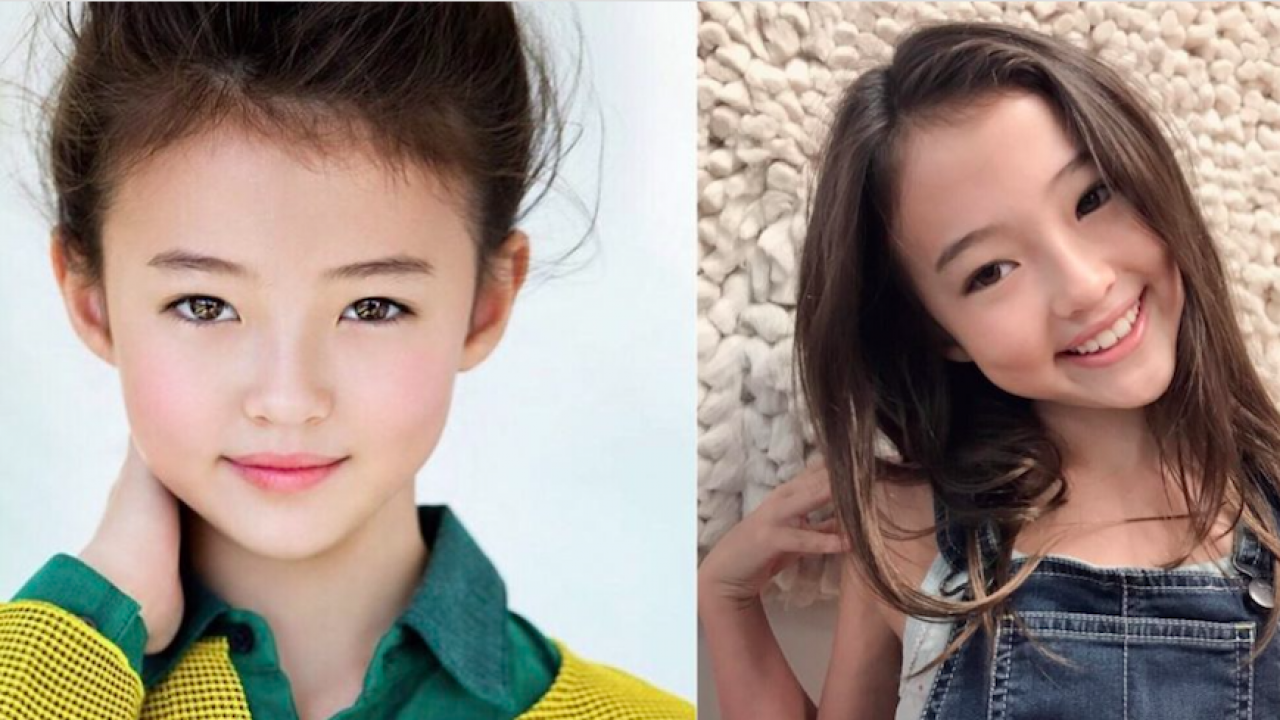 The Most Gorgeous Child Model in the World is Probably This