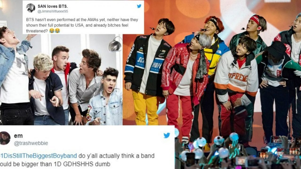 People are Pissed That BTS is Called the 'Biggest Boy Band