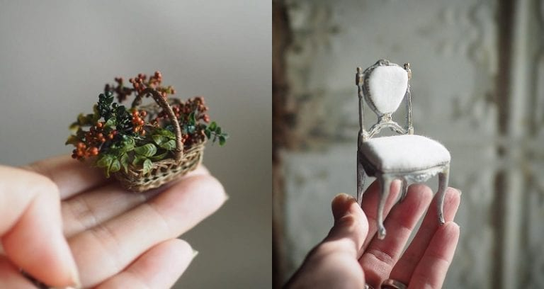 Japanese Mother Wakes Up at 4 A M  Each Day to Make Miniature