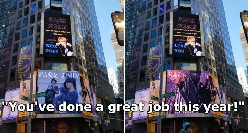 Rich K Pop Fans Have Spent Hundreds Of Thousands This Year To Buy Ads In NYCs Times Square