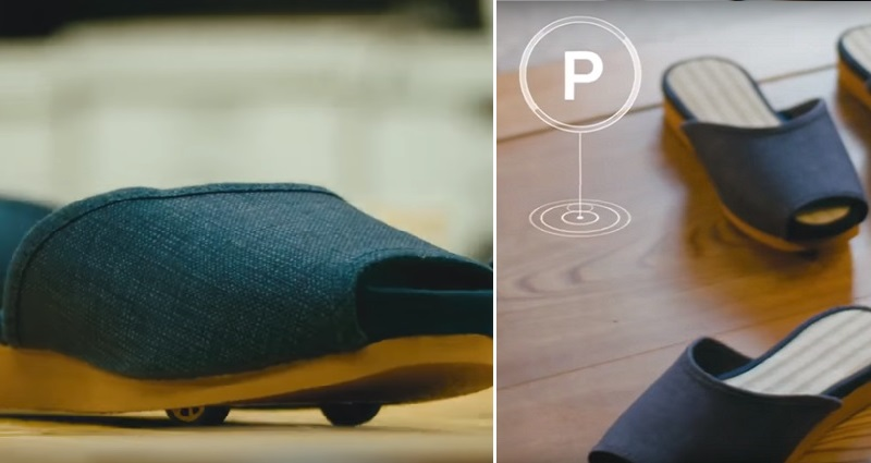 self-driving slippers in japan
