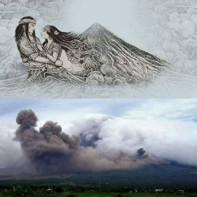 mayon volcano in the philippines