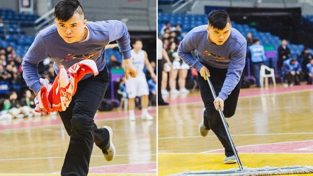 Chinese Basketball Court Cleaner