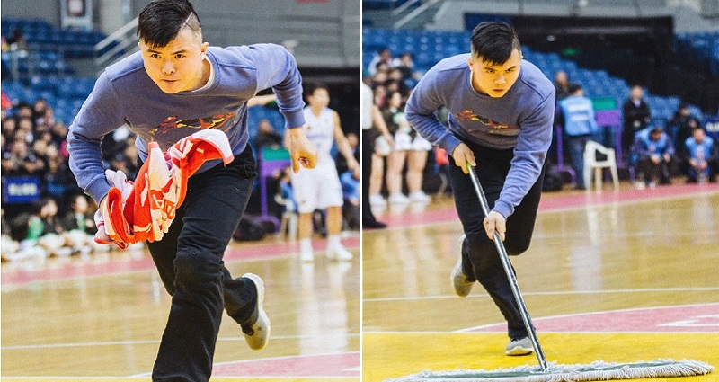 basketball court cleaner china