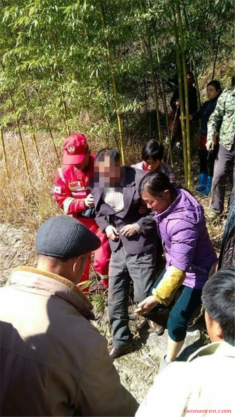 suicidal chinese man reunited with family