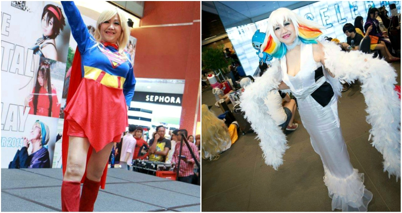 singaporean cosplayer