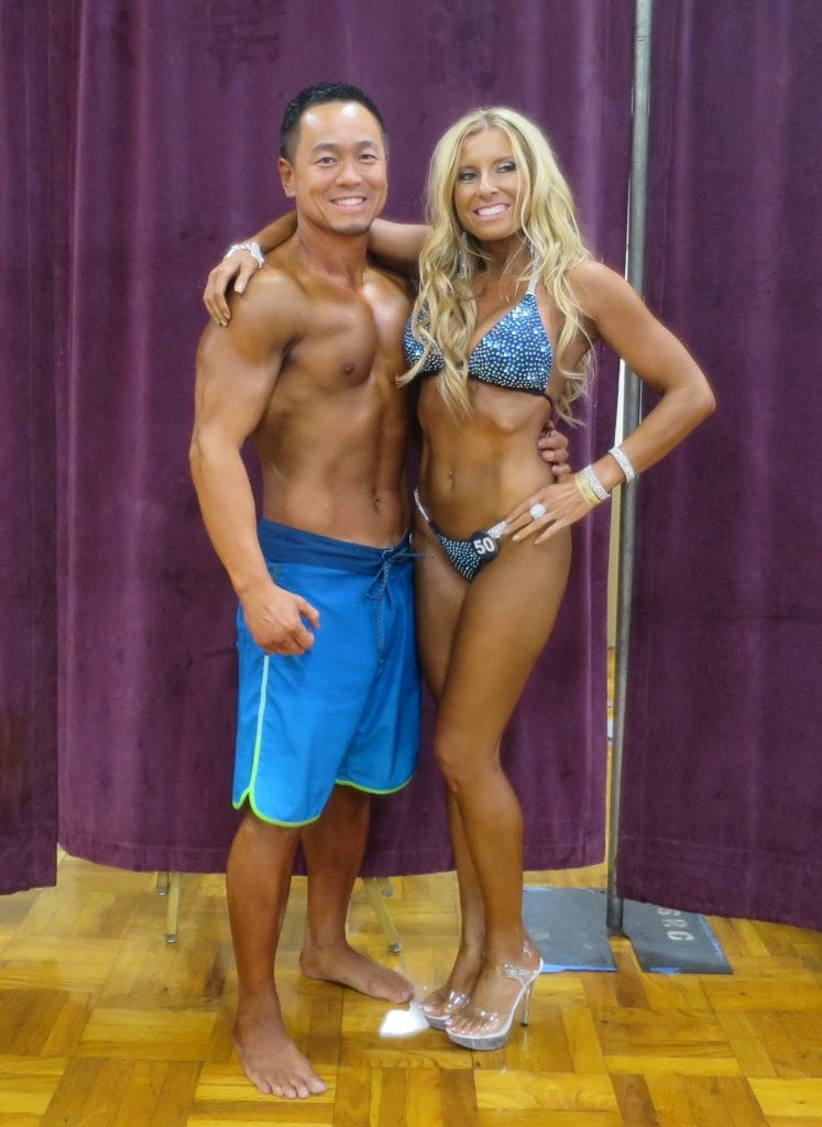 bodybuilding couple
